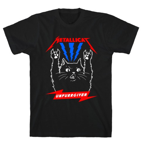 Metallicat Unfurrgiven Darkness Edition T-Shirt