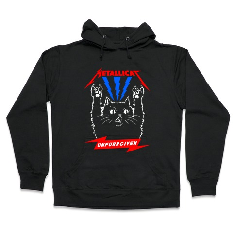 Metallicat Unfurrgiven Darkness Edition Hooded Sweatshirt