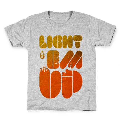 Light 'Em Up Kids T-Shirt