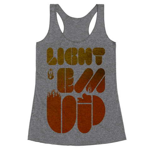 Light 'Em Up Racerback Tank Top