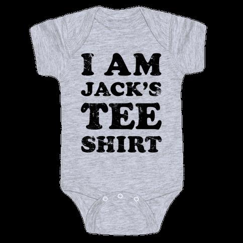 I Am Jack's Tee Shirt Baby Onesy
