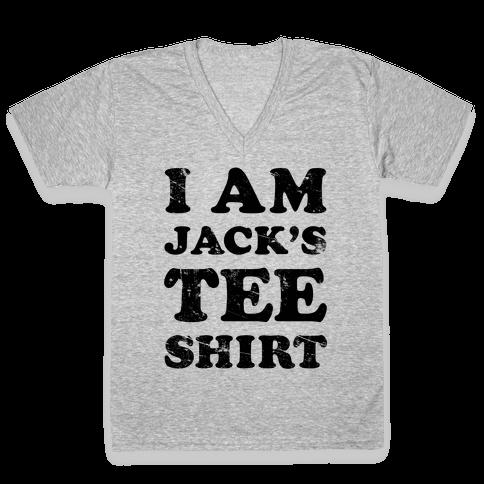 I Am Jack's Tee Shirt V-Neck Tee Shirt