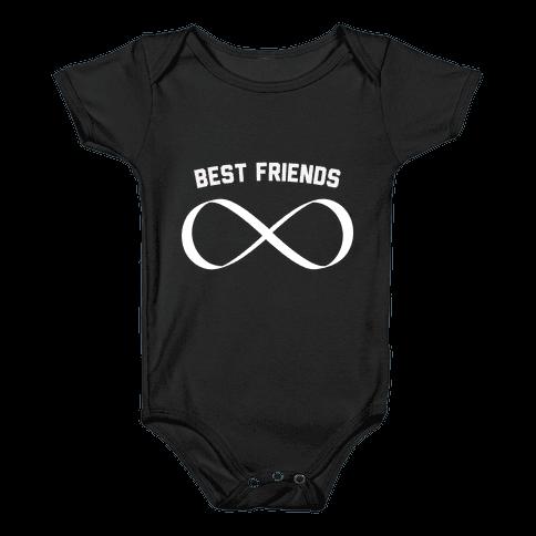 BFF (infinity) Baby Onesy