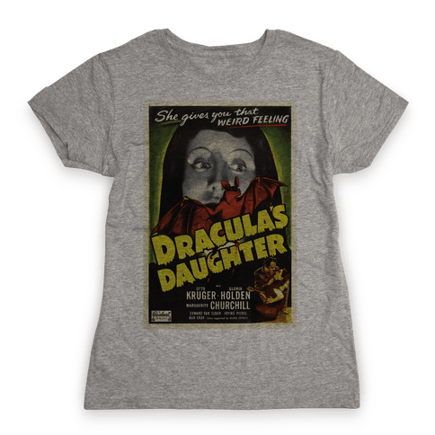 Dracula's Daughter Womens T-Shirt