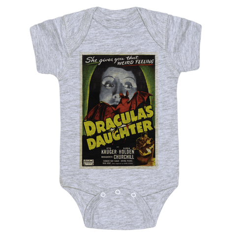 Dracula's Daughter Baby Onesy