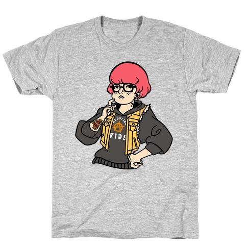Punk Velma Parody T-Shirt