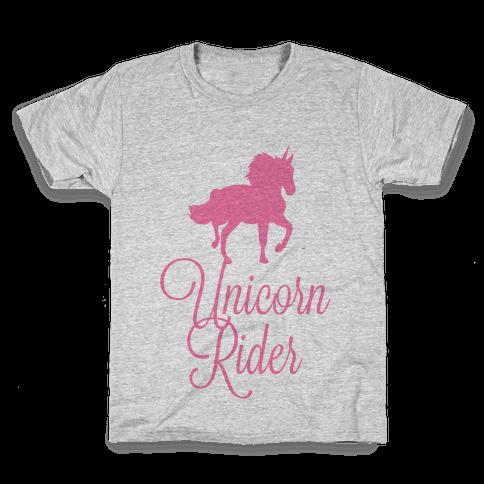 Unicorn Rider Kids T-Shirt