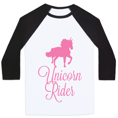 Unicorn Rider Baseball Tee