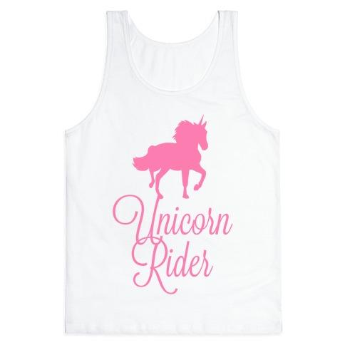 Unicorn Rider Tank Top