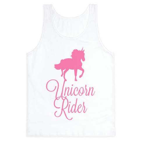 Unicorn Rider Tank Top