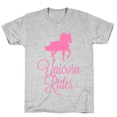 Unicorn Rider Mens/Unisex T-Shirt