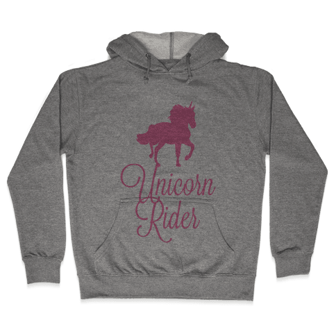 Unicorn Rider Hooded Sweatshirt