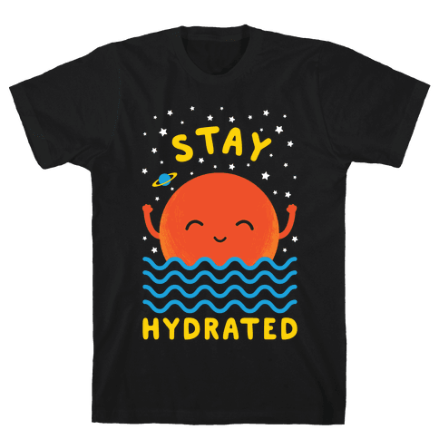 Stay Hydrated (Mars) Mens T-Shirt