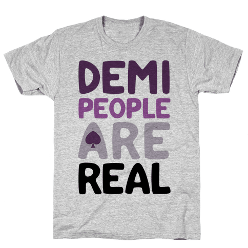 Demi People Are Real Mens T-Shirt