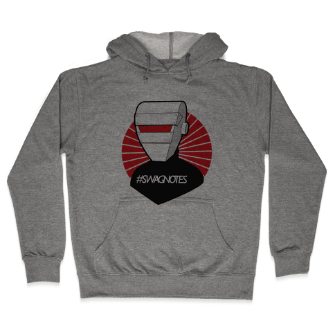 #swagbot shirt Hooded Sweatshirt