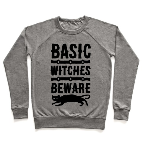 Basic WItches Beware Pullover