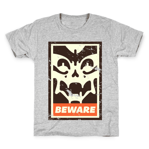Beware (distressed) Kids T-Shirt