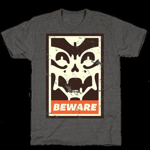Beware (distressed)