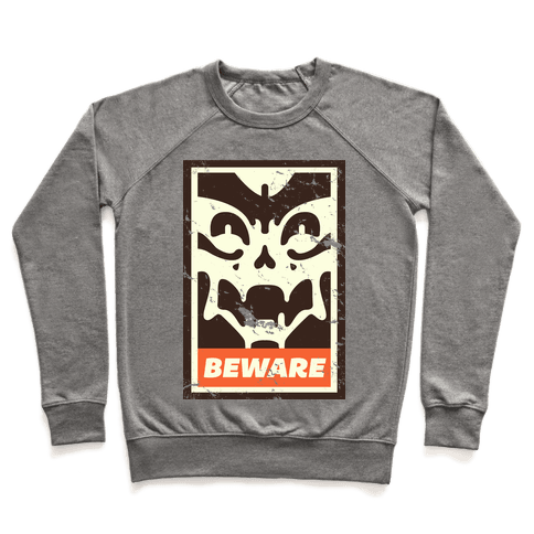 Beware (distressed) Pullover