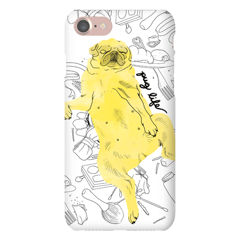 The Pug Life Phone Case