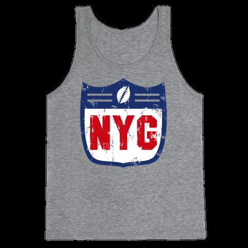 Football in New York Tank Top