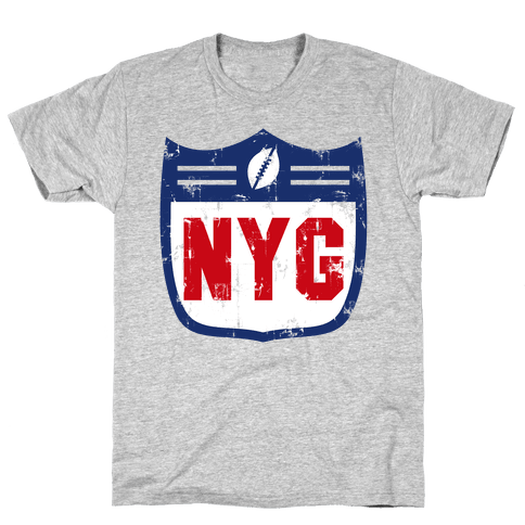 Football in New York Mens T-Shirt