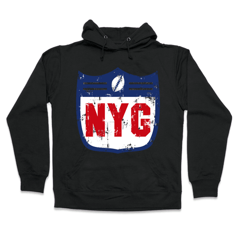 Football in New York Hooded Sweatshirt