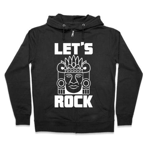 Let's Rock Zip Hoodie