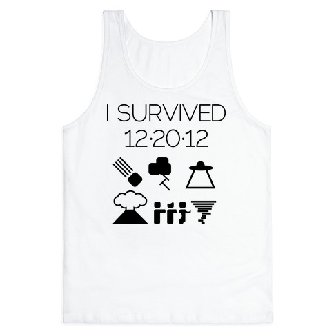 I Survived 12/20/12 Tank Top