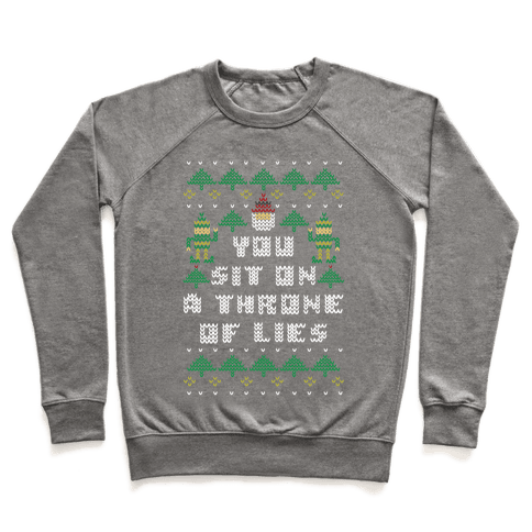 You Sit On a Throne of Lies Pullover
