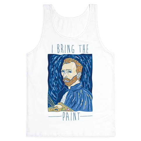 I Bring The Paint Tank Top