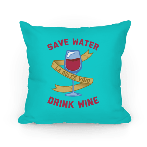 Pillow Drink Wine Baby
