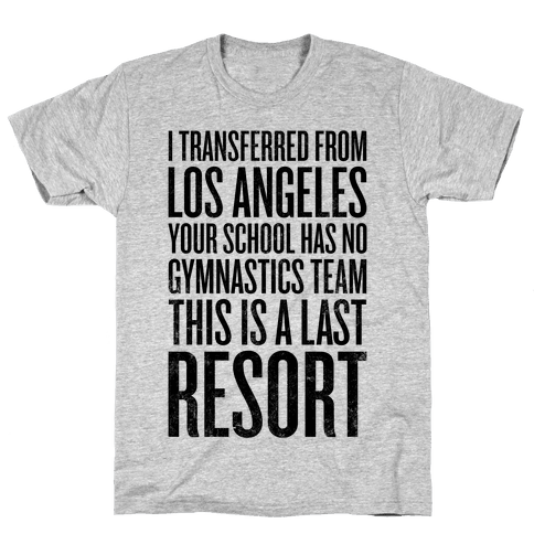 This Is A Last Resort Mens T-Shirt