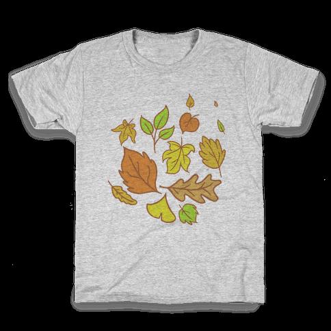 Autumn Leaves Kids T-Shirt