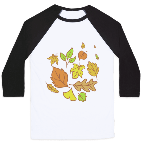 Autumn Leaves Baseball Tee