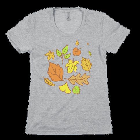 Autumn Leaves Womens T-Shirt