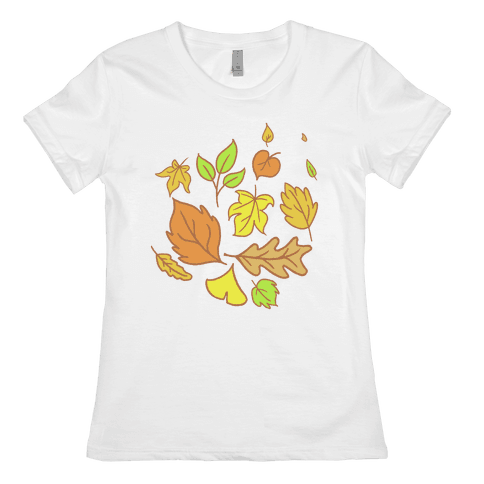 Autumn Leaves Womens T-Shirt