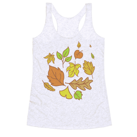 Autumn Leaves Racerback Tank Top