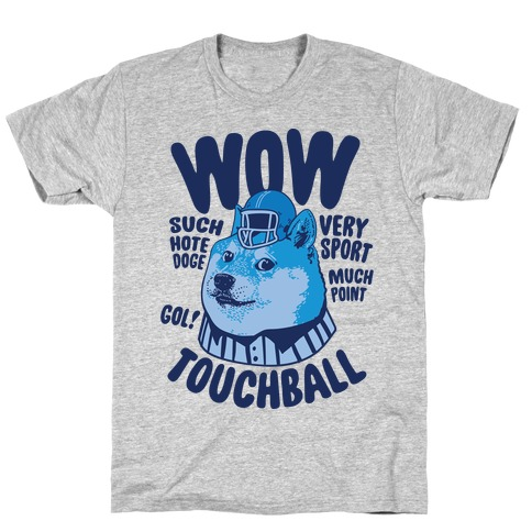 Sports Doge Mens/Unisex T-Shirt