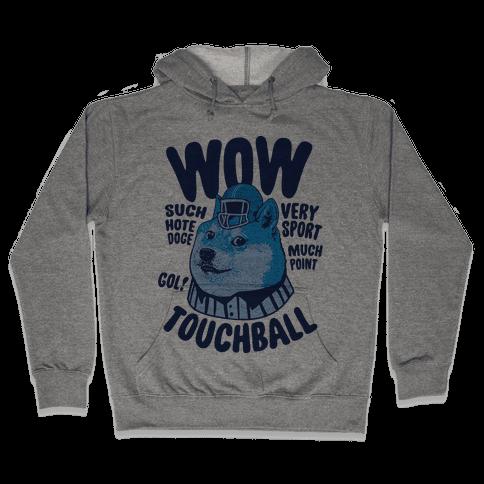 Sports Doge Hooded Sweatshirt