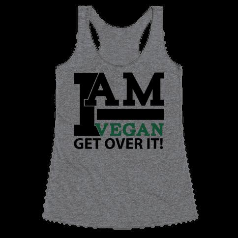 Vegan Life Racerback Tank Top