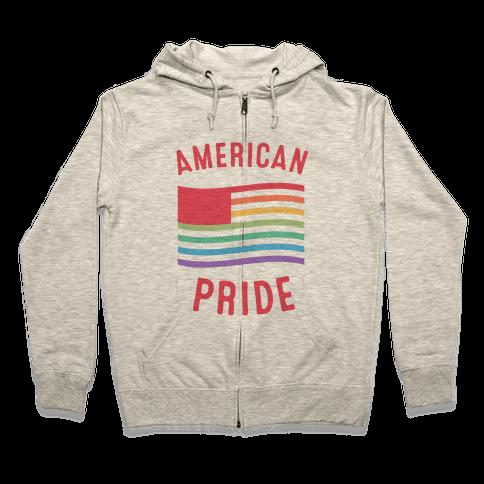 American Pride Zip Hoodie