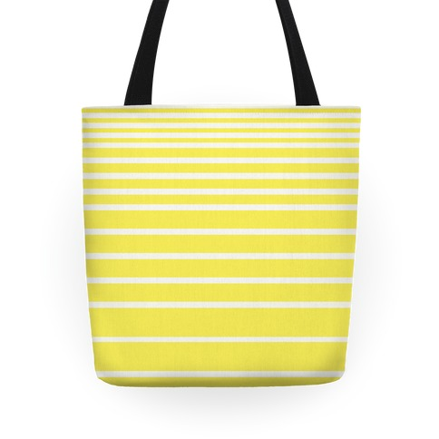 Yellow Stripe Tote Tote