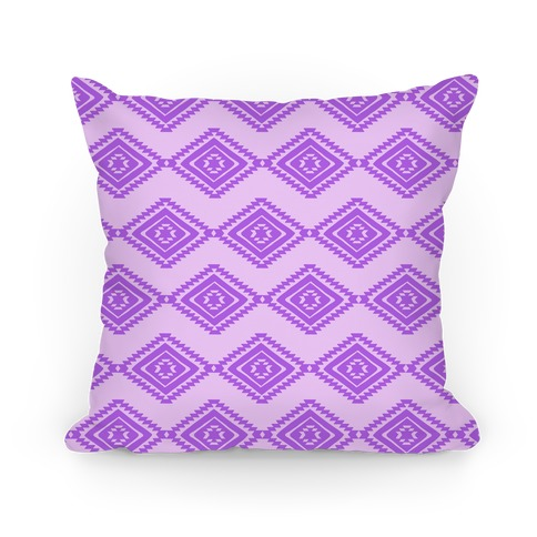 Aztec Diamond Pattern Pillow