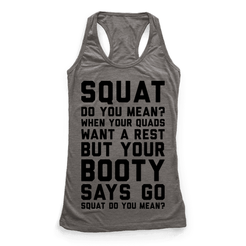 Squat Do You Mean?