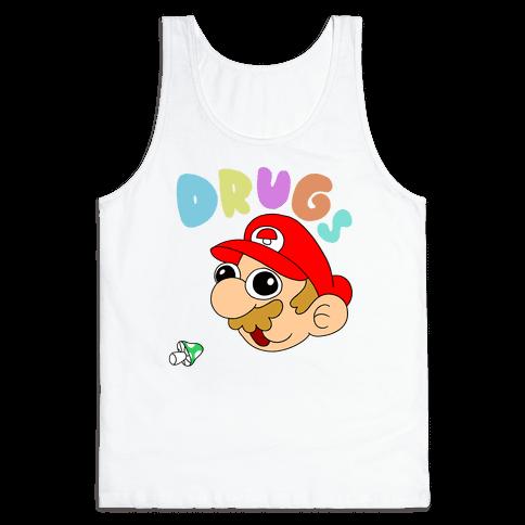 Drugs (Mario) Tank Top