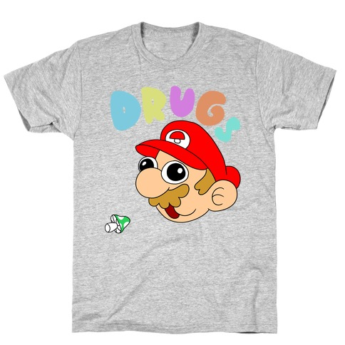 Drugs (Mario) T-Shirt