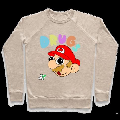Drugs (Mario) Pullover