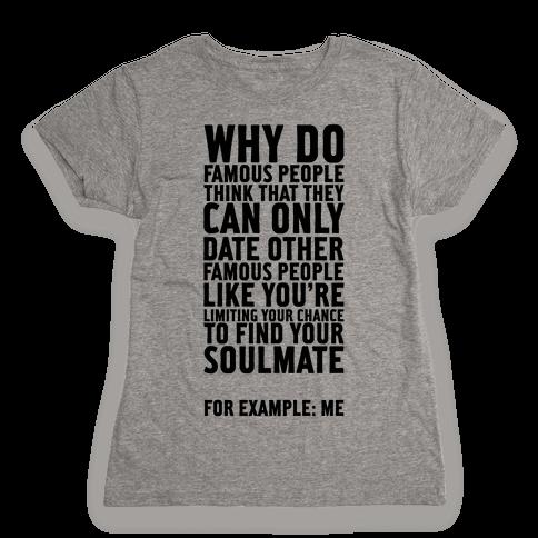 Soulmate Tank Womens T-Shirt