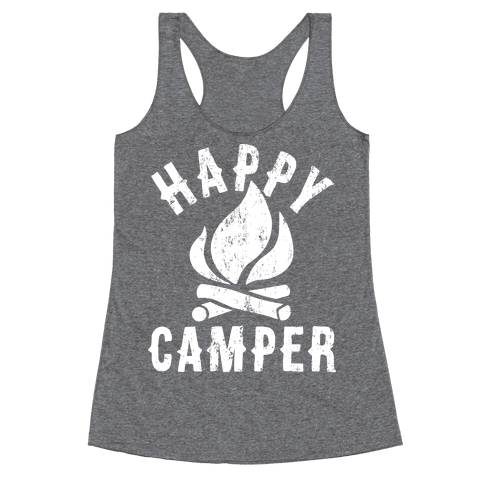 Happy Camper Racerback Tank Top